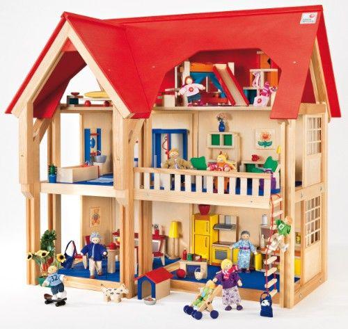 Maison de poupée 3 étages