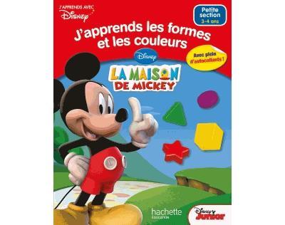 J'apprends les formes et les couleurs avec Mickey