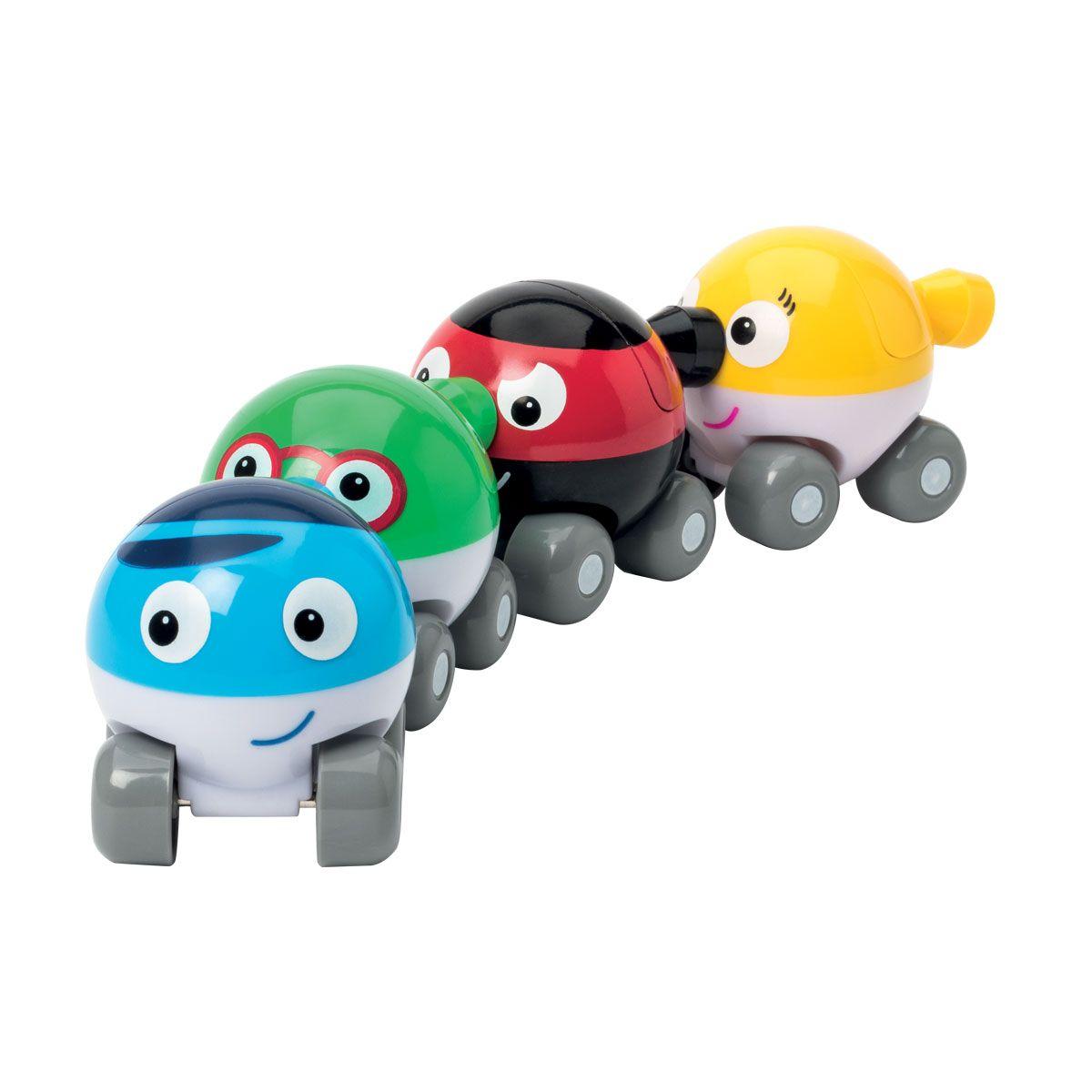 Voitures magnétiques Bubble car (x4)
