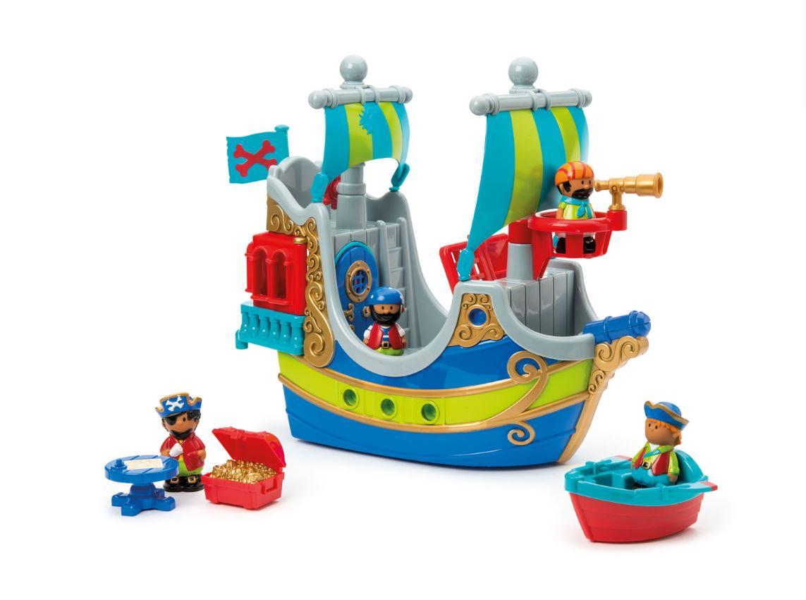 Bateau pirate Happyland