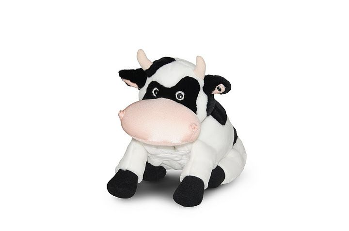 Vache Cookie peluche oreiller