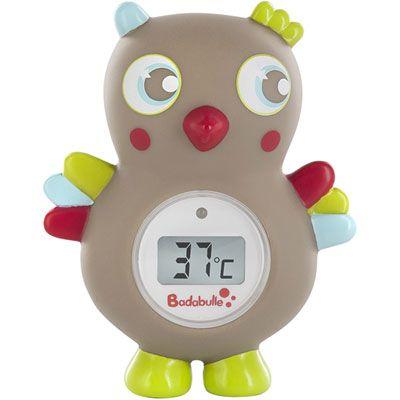 Thermomètre de bain digital Hibou BADABULLE