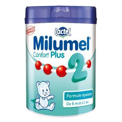 Lait Milumel confort plus 2ème âge 900 g