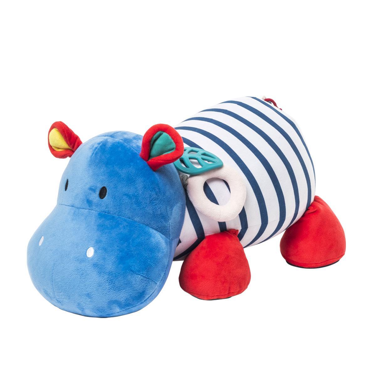 Grande Peluche d'activités Hippo Sensibul