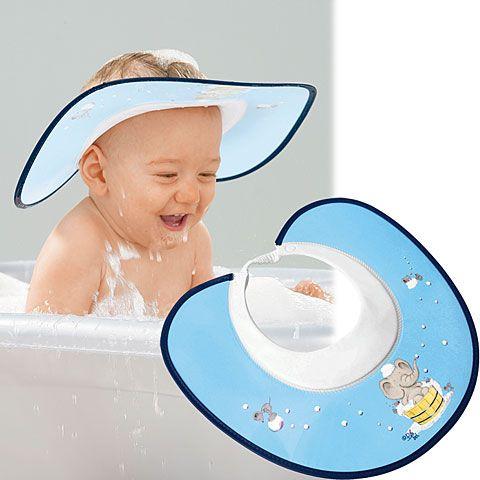 Visière anti-shampoing
