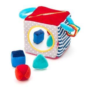 Cube d'activités cache-cache