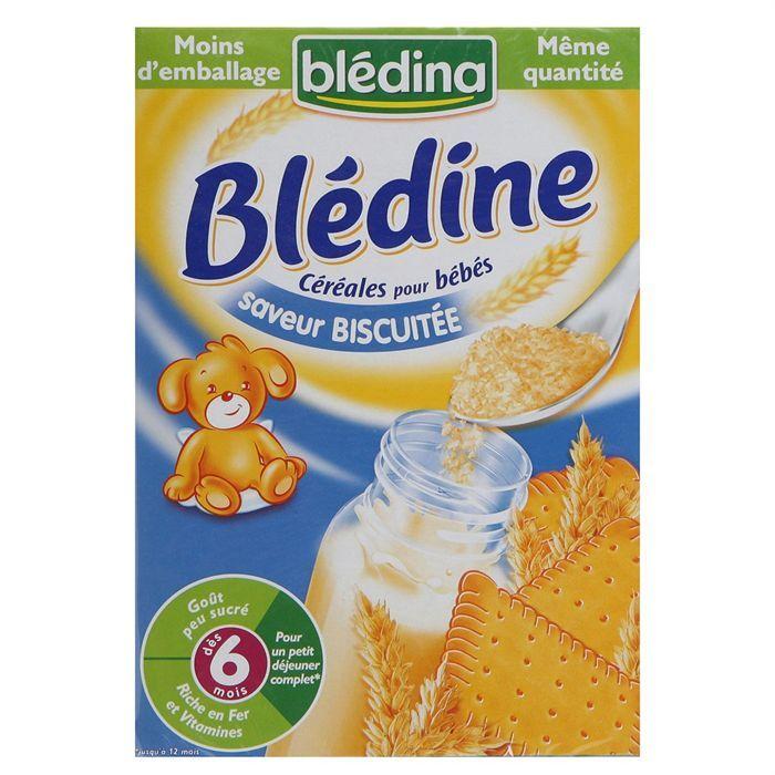 BLEDINA - Blédine biscuitée BLEDINA