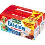BLEDIDEJ Croissance choco biscuite 4x250 ml dès 12 mois BLEDINA