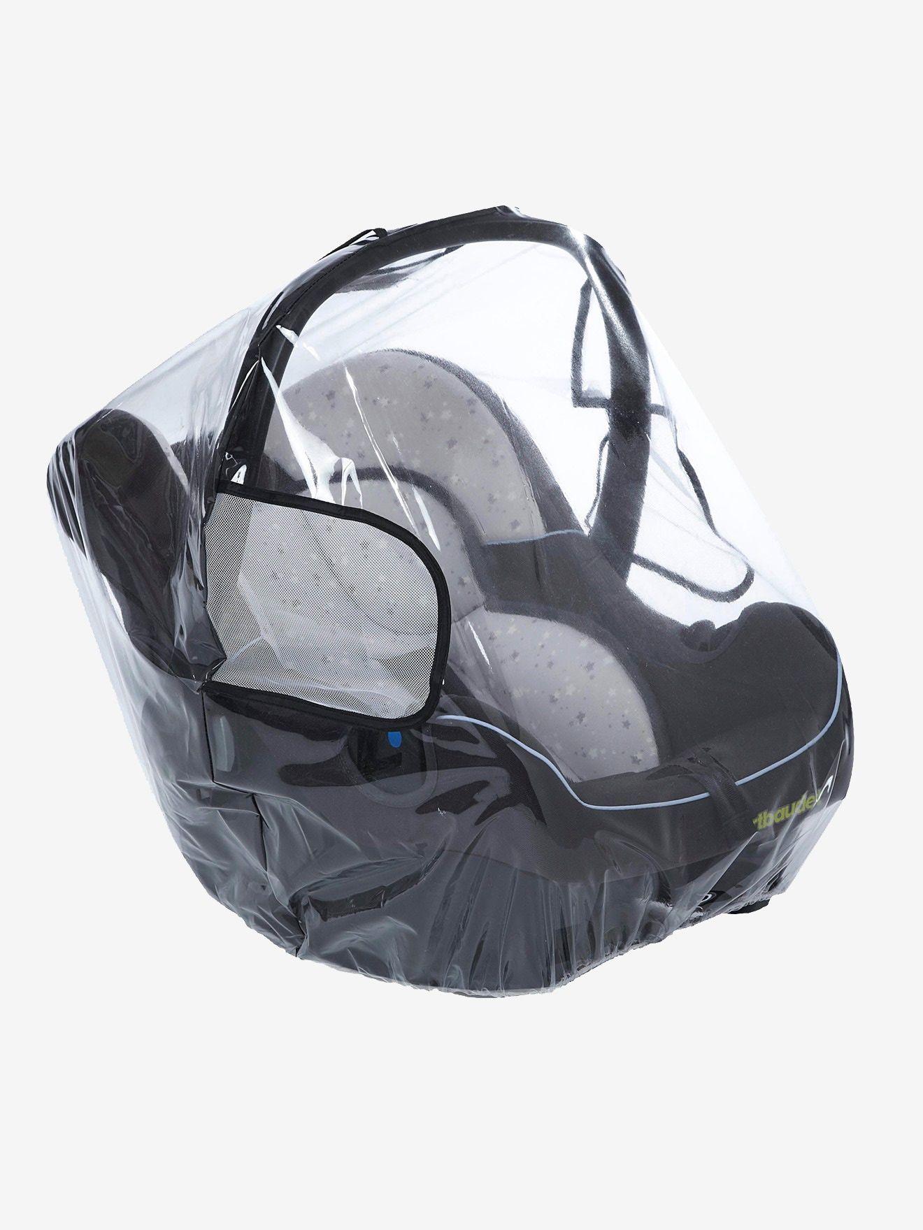 Habillage pluie intégral pour siège auto coque groupe 0+
