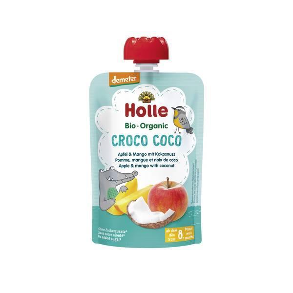 Croco Coco - Gourde pomme, mangue et noix de coco