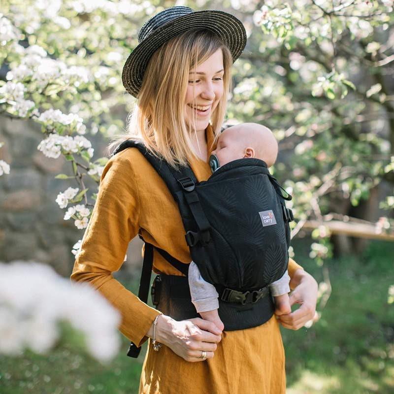 Porte-bébé physiologique ONE  + en coton bio