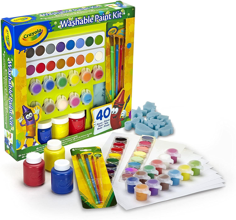 Kit de peinture lavable - 40 pièces
