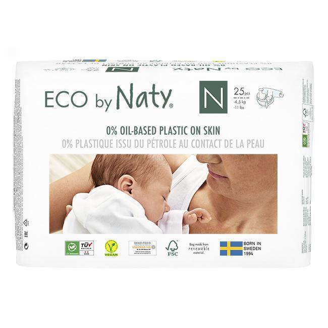 Couche Naty écologiques jetables Taille 0