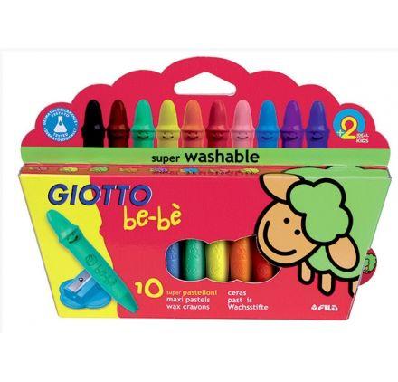 Maxi Crayons de Cire Be-Bè