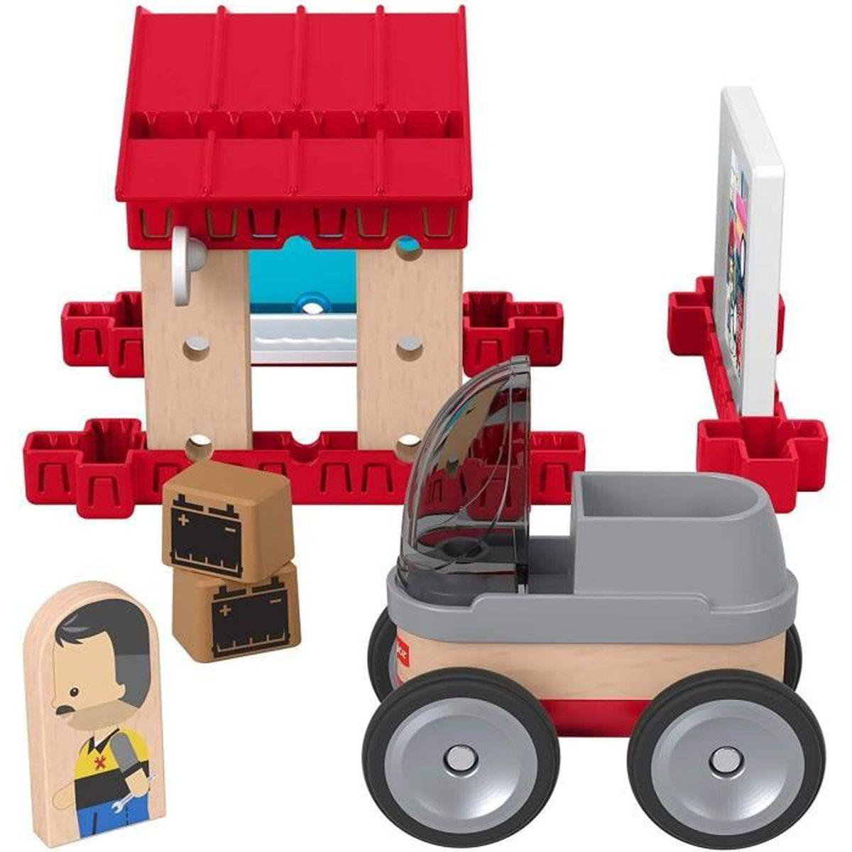 Jeu de construction voiture de course Wonder Makers