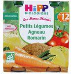 Petits légumes agneau romarin 250 g dès 12 mois HIPP