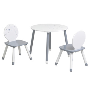 Table et chaises Poussière d'étoiles
