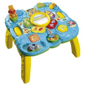 Table des découvertes Winnie VTECH