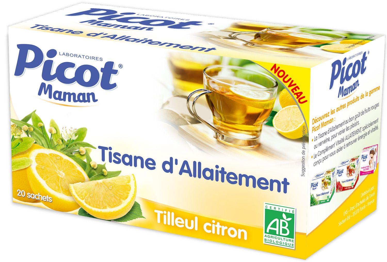 Tisane d'allaitement tilleul / citron PICOT