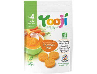 Purée de carottes Bio