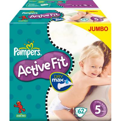 Couches Pampers ACTIVE FIT JUNIOR T5 (11-25 KG)