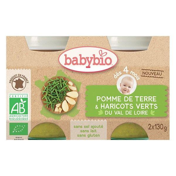 Petit pot Pomme de terre Harivots verts