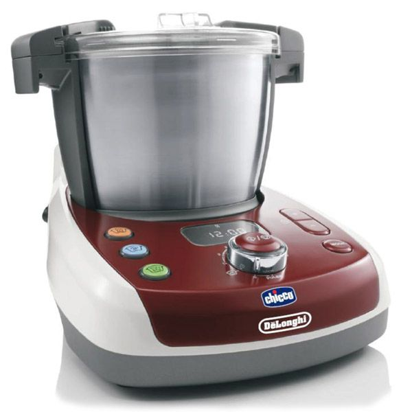 Robot cuiseur multifonctions Baby meal Delonghi et Chicco CHICCO