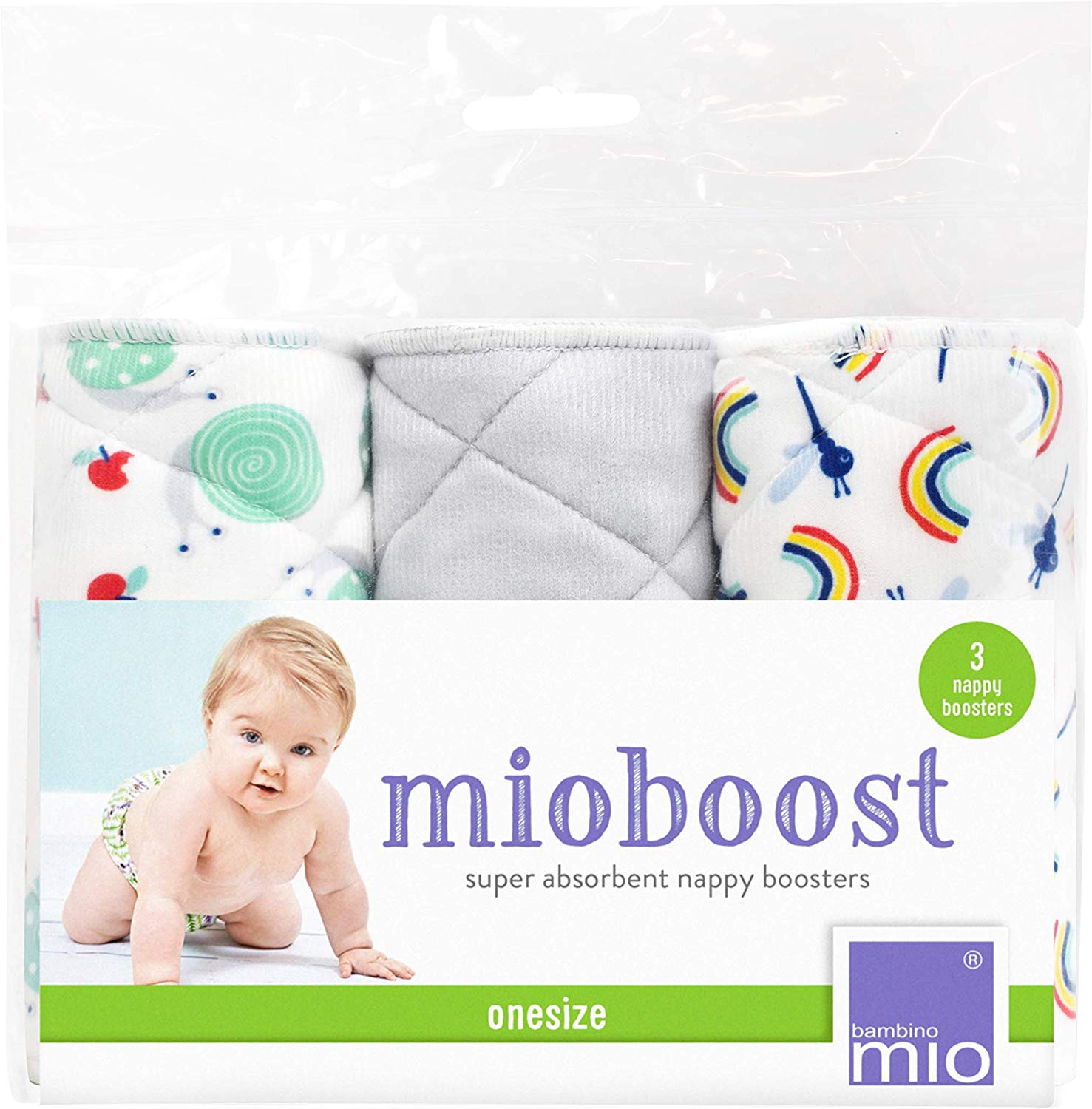 Mioboost (boosters pour couches lavables) BAMBINO MIO