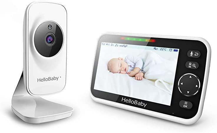 Babyphone vidéo HB50 avec communication bidirectionnelle