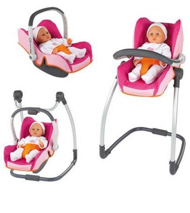 Chaise haute 3 en 1 pour poupons et poupées