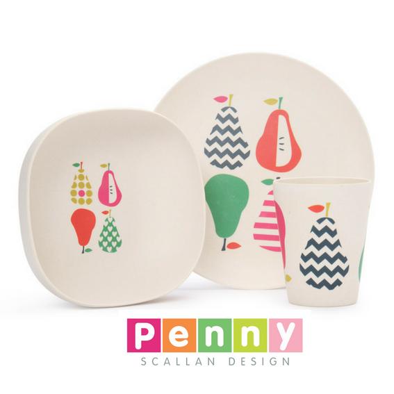 Set Repas bambou - Penny Scallan