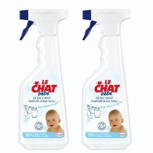 Spray détachant bébé