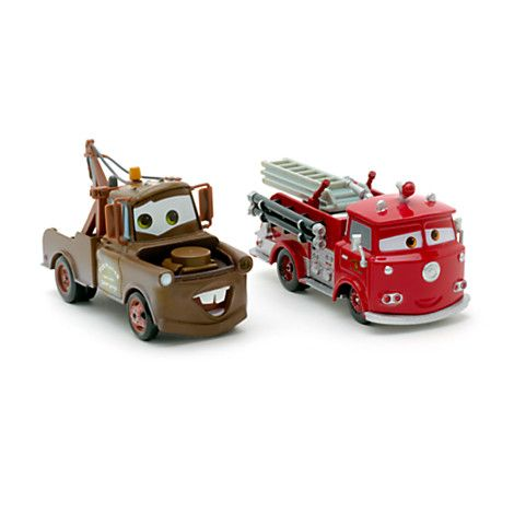 Martin et Red miniatures Cars