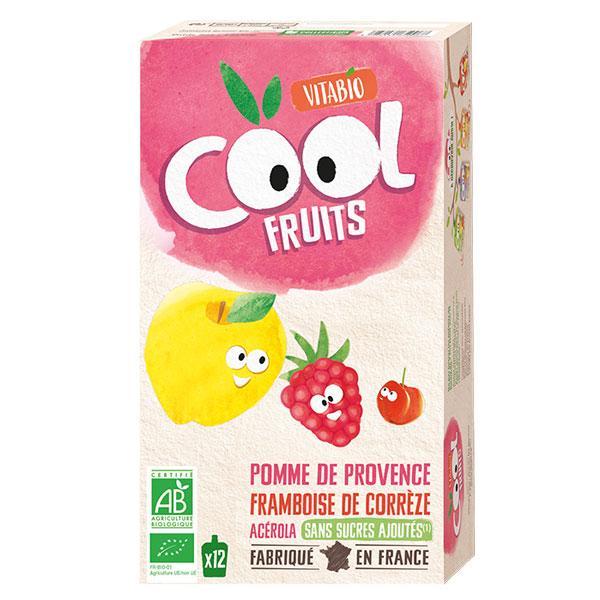 Cool Fruits - Pomme de Provence Framboise de Corrèze Acérola