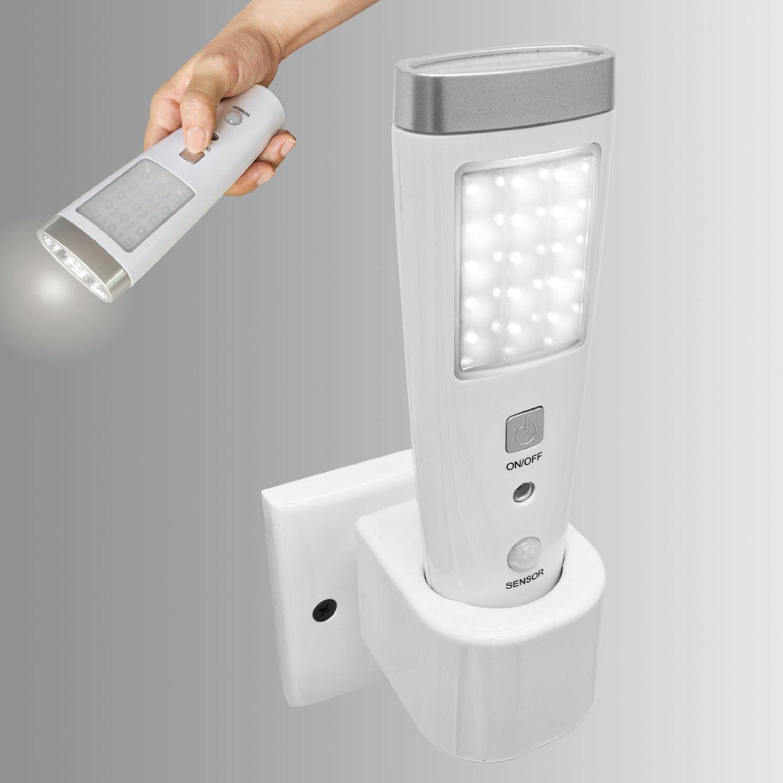 Lampe torche à détecteur de présence