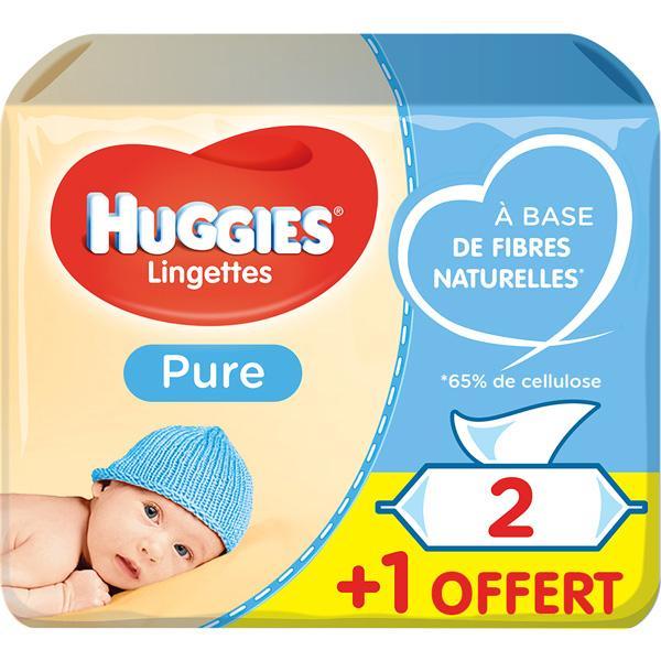 Lingettes Pure HUGGIES