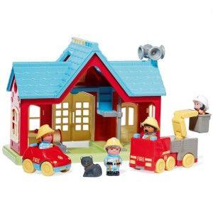 La caserne de pompiers Happyland