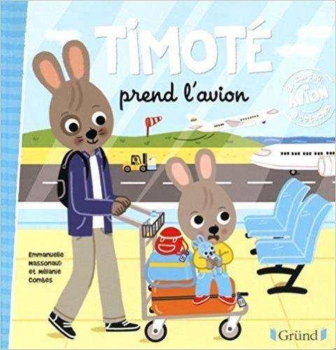 Timoté prend l'avion