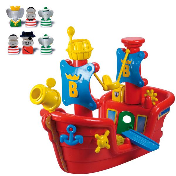 Babar et le bateau pirate