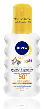 Spray solaire FPS 50+ Sun Kids Protect & Sensitive