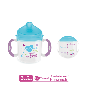 Tasse d'apprentissage évolutive 160 ml