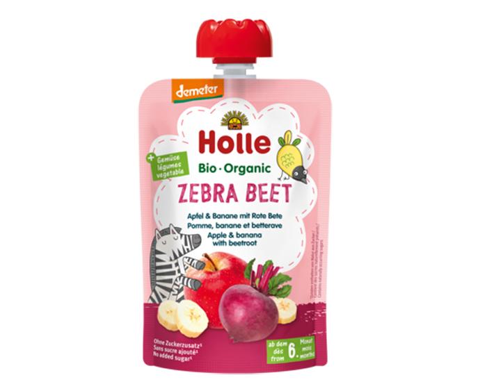 Zebra Beet - Gourde pomme, banane et betterave