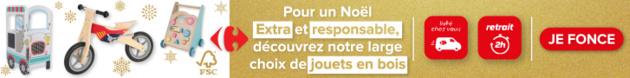campagne Bannière avis CARREFOUR octobre 21