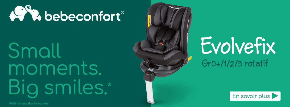 Baby Test Siège-auto Evolvefix BEBE CONFORT