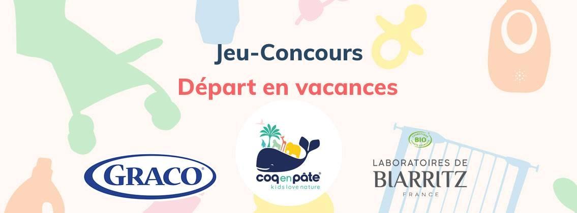 JEU-CONCOURS DEPART EN VACANCES