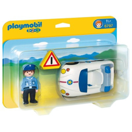 Playmobil 1.2.3 - Policier et voiture PLAYMOBIL 1