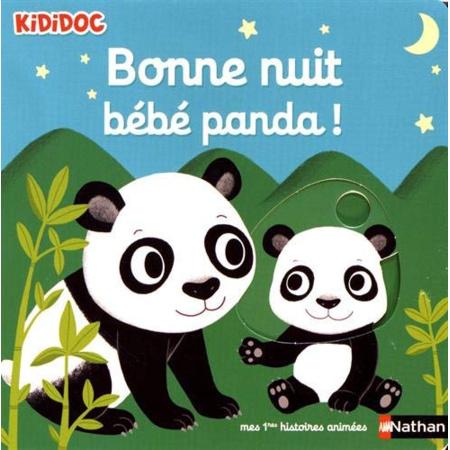 Livre Bonne nuit bébé Panda ! - Kididoc NATHAN 1