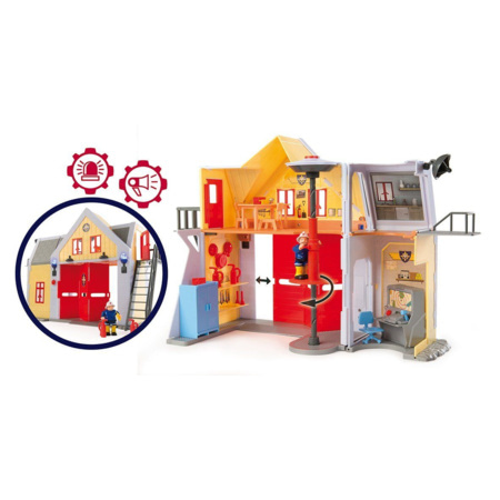 Caserne Sam le pompier SMOBY 3