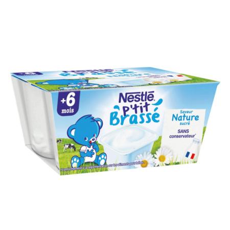 P'tit Brassé Nature (4x100g) 1