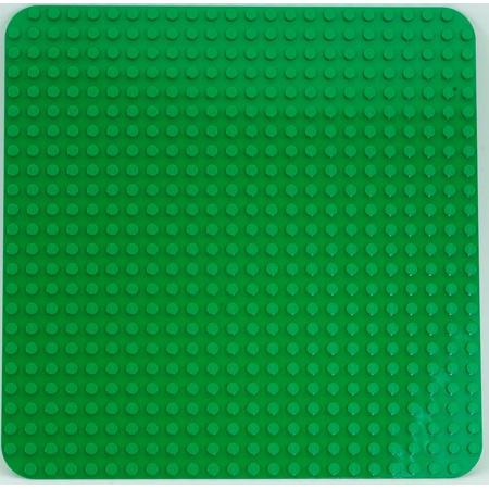 Duplo - Grande plaque de base verte LEGO 1